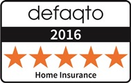 Defaqto 5 Star Rating fro Home Insurance