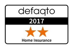 Defaqto 2 Star Rating for Home Insurance