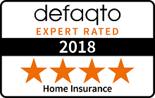 Defaqto 4 Star Rating for Home Insurance