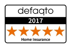 Defaqto 5 Star Rating for Home Insurance
