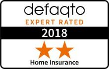 Defaqto 2 Star Rating for Home Insurance