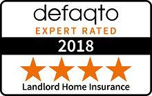 Defaqto 5 star rating for Landlord Insurance