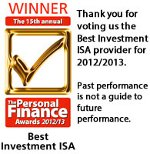 Best Investment ISA 2012/13