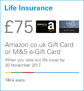 £75 amazon or M&S giftcard