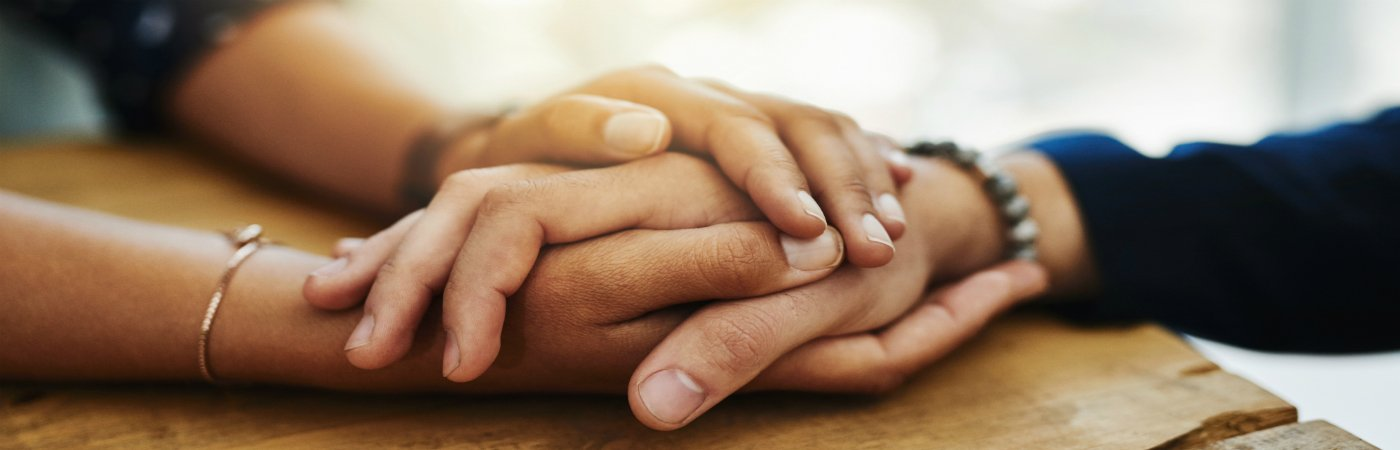 Holding hands - coping with a terminal illness