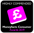 Moneyfacts 2019 - Highly Commended
