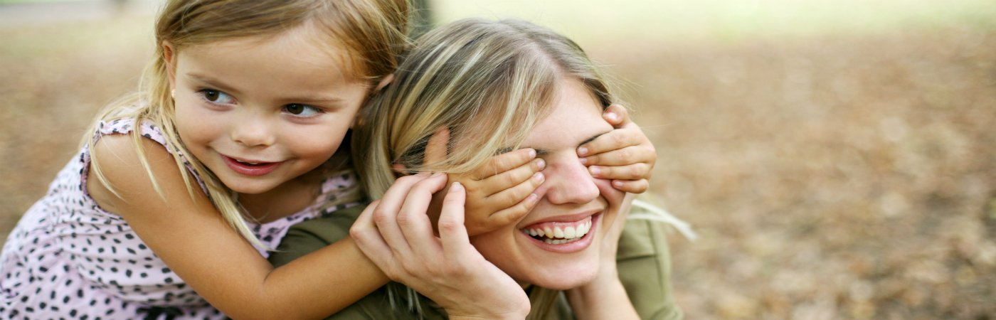 what is life insurance - mum and daughter hiding