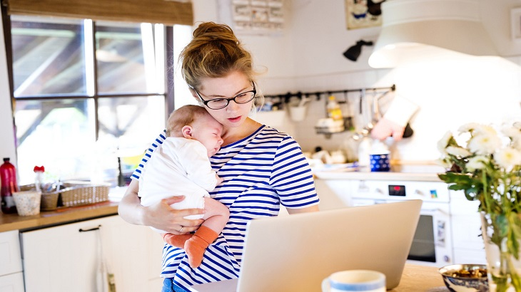 insurance - home insurance - resources - images - Woman and Baby