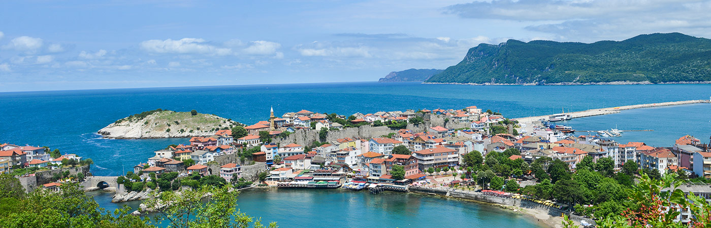 insurance - travel - resources - images - 1400 x 450 - European island with houses